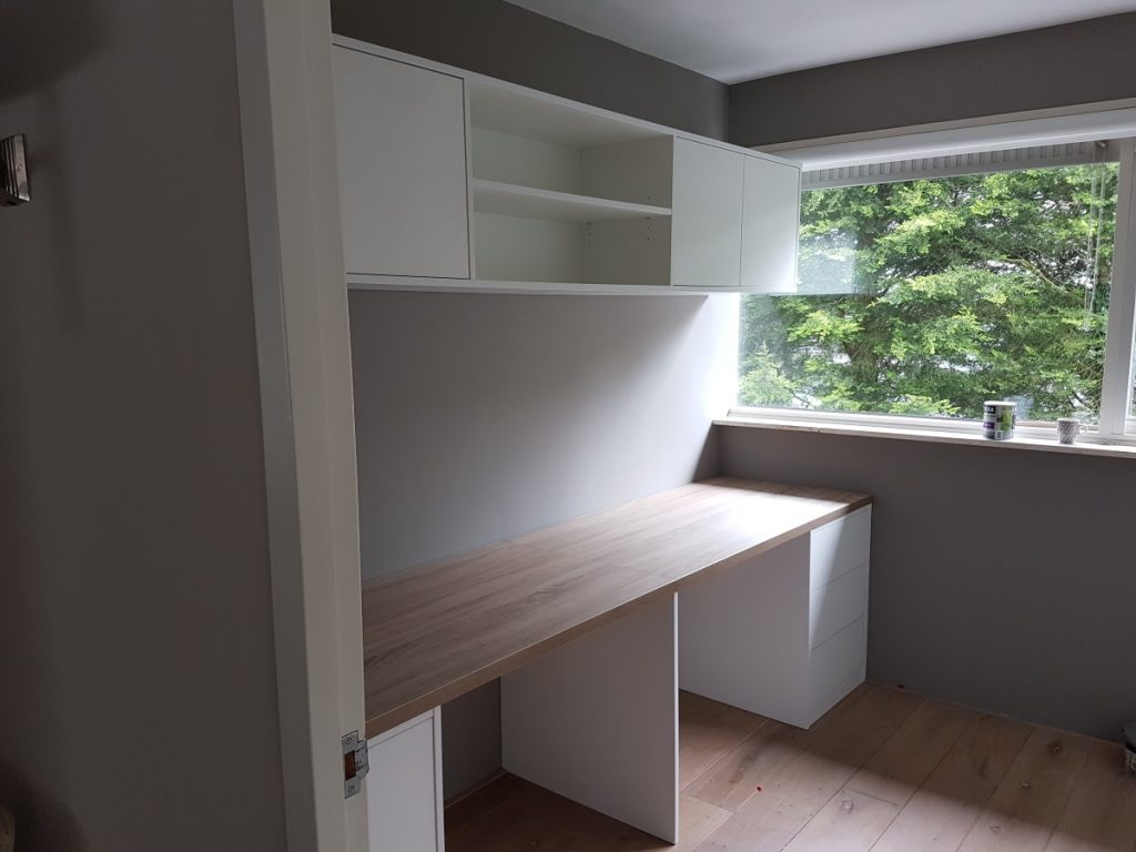 Werkblad en bovenkasten op maat